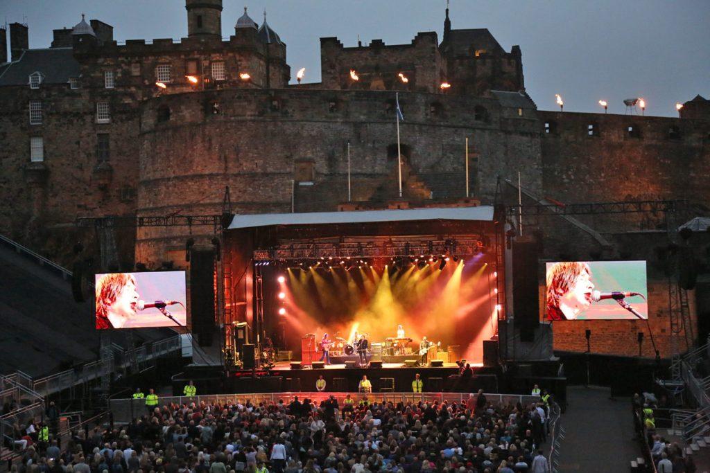 Del Amitri Live @ Edinburgh Castle, July 21st 2018